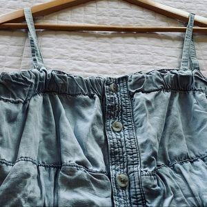 Jean Button Down Dress